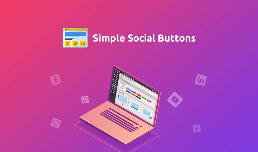 Simple Social Buttons Lifetime Deal