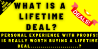 What Is a Lifetime Deal