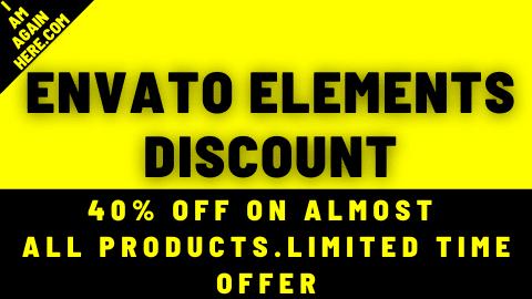 envato elements discount