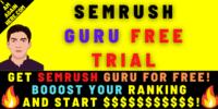 Semrush Guru free trial